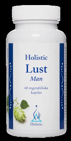 Lust Man, Holistic 60 kapslar