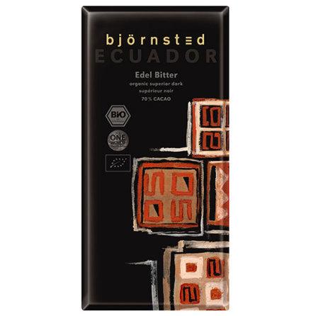 Mörk choklad Ecuador Dark 70% kakao, ekologisk Björnsted