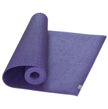 Yogamatta Lila, EcoYogamat, av naturlatex och jutefiber