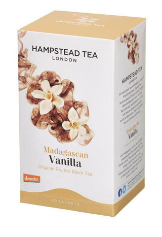 Madagascan Vanilla, ekologiskt te från Hampstead Tea