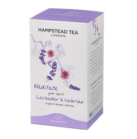 Meditate your spirit, ekologiskt te med lavendel och valeriana