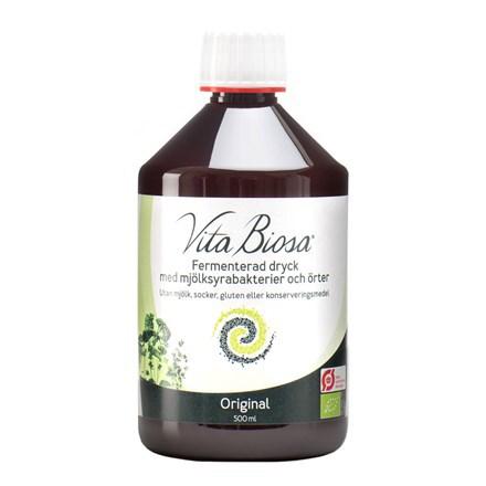 Vita Biosa Original, dryck med mjölksyrabakterier