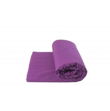Yogamatta för Yinyoga, av naturlatex, med purpurlila fodral