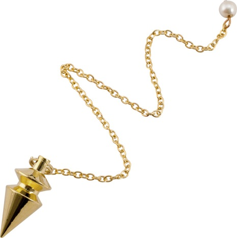 Pendel Spets, small, av mässing