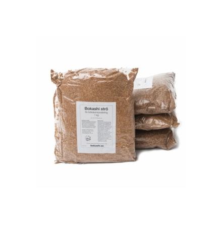 4 kg Bokashiströ för kökskompost