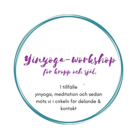 Yin-yoga - workshop för kropp och själ, 1 tillfälle