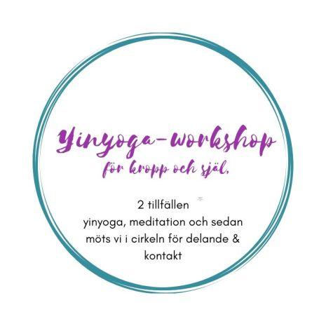 Yin-yoga - workshop för kropp och själ, 2 tillfällen