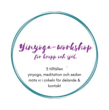 Yin-yoga - workshop för kropp och själ, 3 tillfällen
