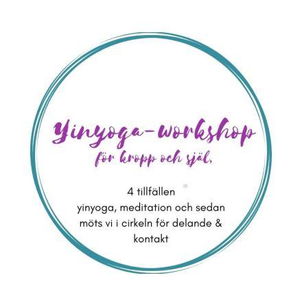 Yin-yoga workshop för kropp och själ, 4 tillfällen