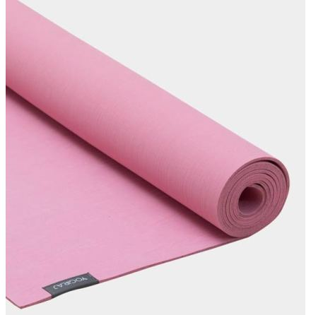 Yogamatta Heather Pink, ekologisk 4 mm, Yogiraj