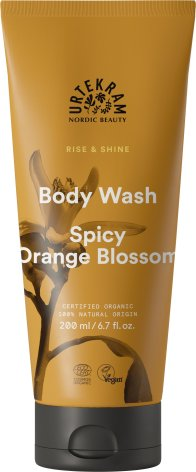 Spicy Orange Blosson Body Wash, Urtekram