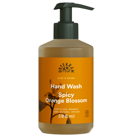 Spicy Orange Blosson Hand Wash, Urtekram