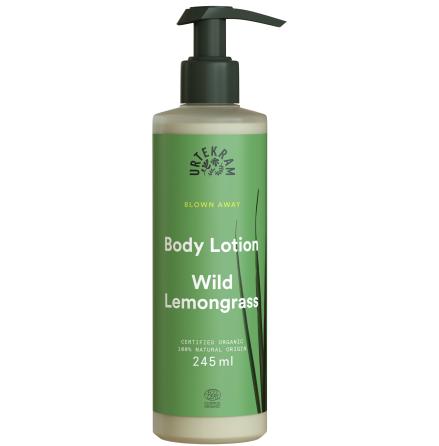 Wild Lemongrass Body Lotion, Urtekram