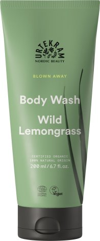 Wild Lemongrass Body Wash, Urtekram