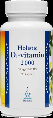D-vitamin 2000ie Holistic