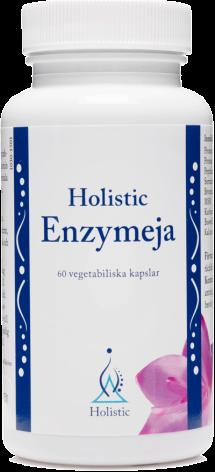 Enzymeja, 60 kapslar Holistic