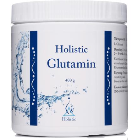Glutamin, 400g Holistic