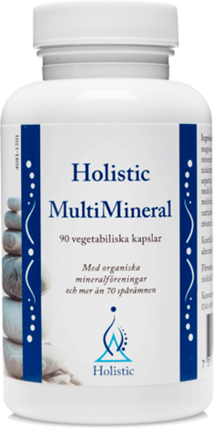 Multimineral, 90 kapslar Holistic