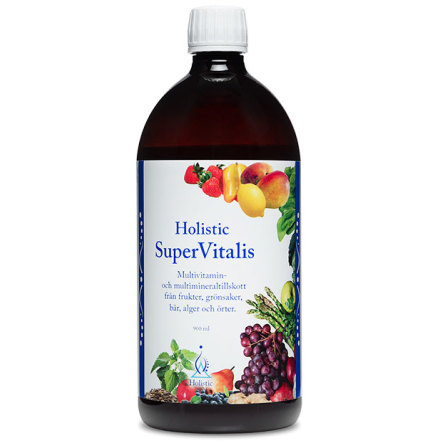 Multivitamin, SuperVitalis 900 ml, Holistic