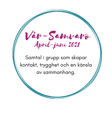 Vår-samvaro, samtal i grupp April-Juni