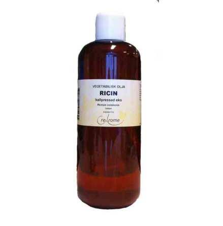 Ricinolja ekologisk kallpressad 500 ml