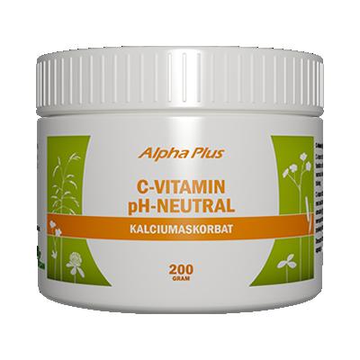 C-vitamin ph-neutral, 200 g från Alpha Plus
