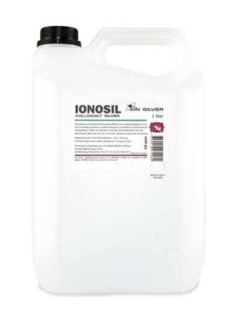 Kolloidalt silver Ionosil, 5 liter Ion Silver