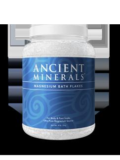 Magnesium badflingor, 2 kg magnesium chloride, Ancient Minerals