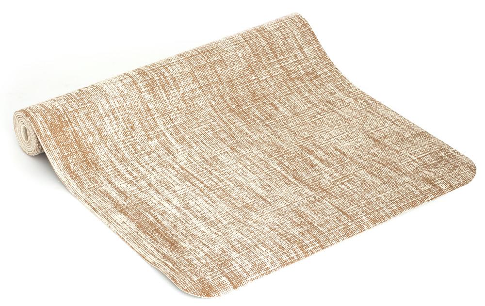 Yogamatta Eco-ion vit - innehåller jutaväv som alstrar negativa joner 58034eeea5acd