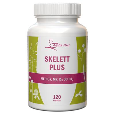 Skelett Plus, kosttillskott för skelett och god sömn, Alpha Plus
